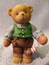 Dad With Hanging Ornament-707341 Cherished Teddies (T=26) in Fort Campbell, Kentucky